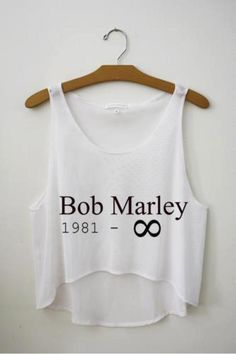 BLUSA TOP CROPPED BOB MARLEY