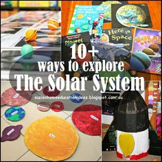 10+  ways to explore The Solar System from Suzie's Home Education Ideas