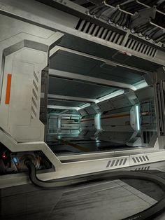 same ship corridor ver 2 by Bro-Bot - Eric Felten - CGHUB via PinCG.com