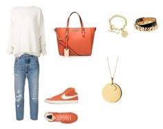 Sport & style by cristina-ri on Polyvore featuring polyvore, fashion, style, URBAN ZEN, Levi's, NIKE, Carvela Kurt Geiger, Links of London, GUESS, Stella & Dot and clothing