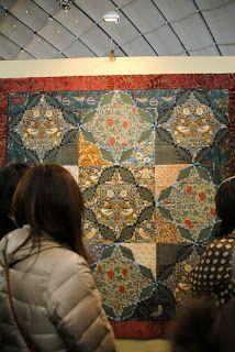 William Morris in Quilting: Tokyo Quilt Festival Part 1