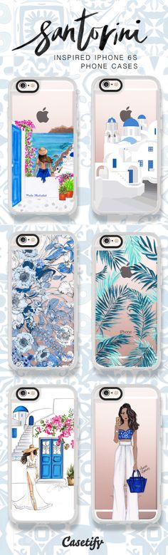 Dreaming of Summer Vacay in Santorini. Shop these best iPhone 6S cases here > https://www.casetify.com/artworks/vNx9jKfP1a