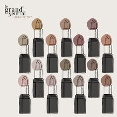 Le Grand Neutral Lip Guide 2017 | Le Grand Neutral