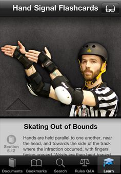 Rather nifty WFTDA rules app for iPhone http://wftda.com/store/wftda/item/99110001
