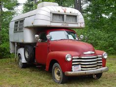Woodalls Open Roads Forum: Truck Campers: Classic Truck and Camper!!!