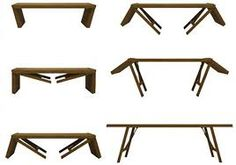 wooden folding table - Google Search