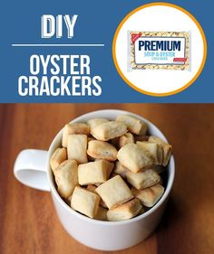 Homemade Oyster Crackers | 29 Foods You Didn't Know You Could DIY