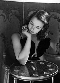 Gloria Vanderbilt, 1941. Photo: Horst. Dress: Howard Greer.