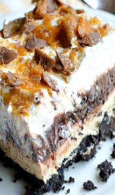 Chocolate Oreo Peanut Butter Dream Pudding