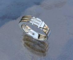 Atlantis Ring – Sterling Silver, Slim