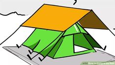 How to Camp in the Rain. Although you may expect a rainy day to ruin your mood, it doesn't have to ruin your camping trip. Rain-resistant clothing and waterproof gear are musts for staying comfortable in the rain. Camping Parties, Camping Meals, Family Camping, Tent Camping, Camping Hacks, Outdoor Camping, Outdoor Life, Grand Canyon Camping, Camping In The Rain