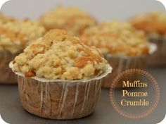 Muffins pomme crumble | Les Yeux plus gros que le Ventre