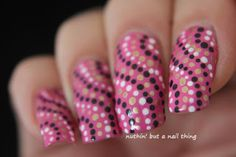 Pink and the polka dots