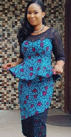 African fashion ghana kaba and slit dress, African fashion, Ankara, kitenge, African women… – African Fashion Dresses - 2019 Trends African Dresses For Women, African Print Dresses, African Attire, African Wear, African Women, African Prints, African Style, African Fabric, African Fashion Ankara