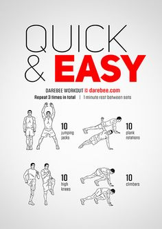 Quick & Easy Workout