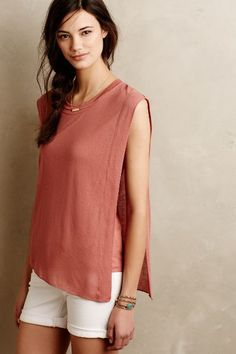 Double Layer Tunic - anthropologie.com