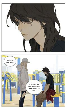 Read Tamen De Gushi Chapter 166 - The funny romantic story of how Qiu Tong and Sun Jing met and fell in love. Anime Girlxgirl, Yuri Anime, Anime Love, Anime Art Girl, Manga Art, Tan Jiu, Fanart, Good Manga To Read, Manhwa Manga