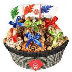 Blessings All Around Holiday Gifts, Christmas Gifts, Healthy Style, Belgian Chocolate, Almonds, Pistachio, Peanuts, Gift Baskets, Chocolates