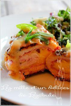 les milles & un délices de ~lexibule~: ~Poulet cordon bleu et sauce au bacon~