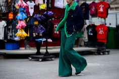 The Grand Finale of Paris Fashion Week Fall 2016 Steet Style - -Wmag