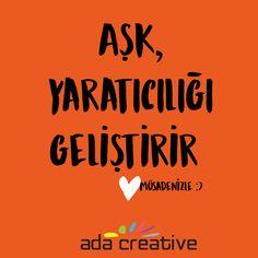 Sadece bugün değil her gününüzün aşkla geçmesi dileğiyle.. #adacreative #adaajans #sevgililergunu #ask
