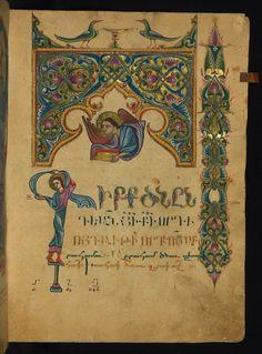 Illuminated Manuscript, Amida Gospels, Walters Art Museum, Ms W.541, fol. 11r | Flickr - Photo Sharing!
