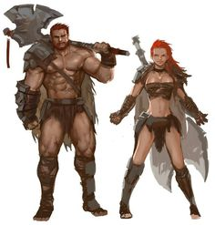 #shirtlessfantasymen #fantasymen #barbarian