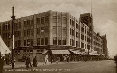 https://flic.kr/p/7dXmCK | 052780:British Home Stores Northumberland Street/Northumberland Road, Newcastle upon Tyne c.1932 | Type : Photograph Medium : Print-black-and-white Description : A postcard of British Home Stores on the corner of Northumberland Street and Northumberland Road, Newcastle upon Tyne c.1932.Shops Collection : Local Studies Printed Copy : If you would like a printed copy of this image please contact Newcastle Libraries www.newcastle.gov.uk/tlt quoting Accession Number…