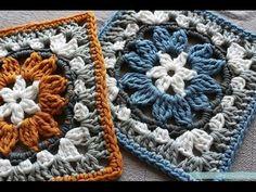 . Crochet, Crochê, Square,