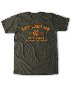 South County Line - Logo Tee Green