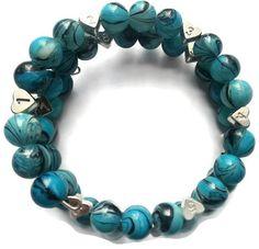 Beautiful Aqua Blue Breastfeeding Bracelet https://www.etsy.com/listing/227390472/aqua-blue-glass-bead-breastfeeding