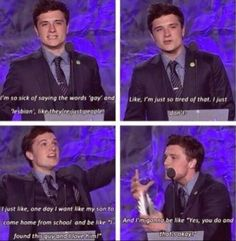 Josh is so sweet! He is Absolutely an amazing person!