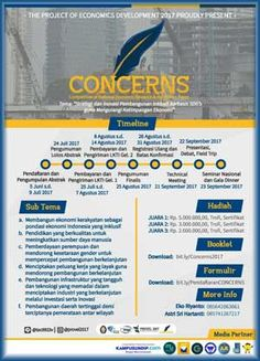 #Lomba #LKTI #LKTIN #Concerns #Undip #Semarang Lomba Karya Tulis Ilmiah Nasional CONCERNS 2017 Competition Of National Economic Research And Innovation Paper  DEADLINE: 9 Juli 2017  http://infosayembara.com/info-lomba.php?judul=lomba-karya-tulis-ilmiah-nasional-concerns-2017-competition-of-national-economic-research-and-innovation-paper