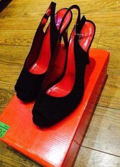 Kup mój przedmiot na #vintedpl http://www.vinted.pl/damskie-obuwie/na-wysokim-obcasie/16203986-czarno-czerwone-szpilki