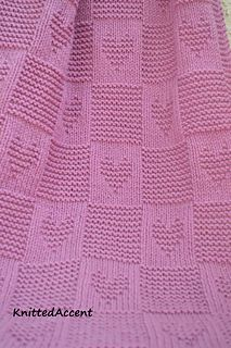 Knitting Patterns Baby Blanket PATTERN written instructions with diagram.Ravelry: Baby pattern by Žana DaniūnienėThis is a lovely twist on my heart blanket, now with even more love!This pattern will require knitting needles and Aran/Worsted weight Baby Knitting Patterns, Free Baby Blanket Patterns, Crochet Blanket Patterns, Baby Patterns, Afghan Crochet, Afghan Patterns, Crochet Ideas, Wool Baby Blanket, Knitted Baby Blankets