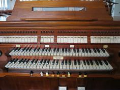 Console Órgão Primeira Igreja Batista do Rio de Janeiro