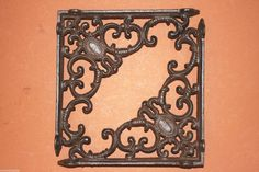 (2),VICTORIAN,MEDALLION,CORBELS, WALL BRACKETS,ANTIQUE STYLE,COUNTRY DECOR, B-29 #UNKNOWN