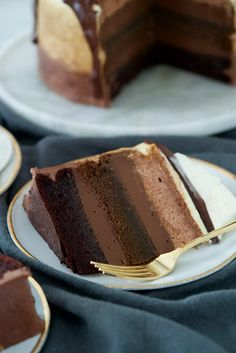 Food Cakes, Impossible Cake, Chocolates, Cake Recipes, Dessert Recipes, Cheesecake, Mousse Cake, Cookies Et Biscuits, Sweet Bread