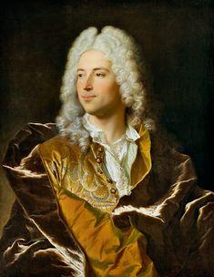 PORTRAIT DU CHEVALIER LUCAS SCHAUB DE BÂLE by Hyacinthe Rigaud, (French 1659-1743)