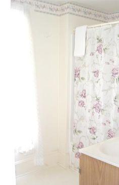 Bathroom with combination tub/shower Shower Tub, Curtains, Bathroom, Home Decor, Washroom, Shower Pan, Blinds, Tub In Shower, Bath Room