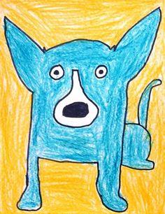 blue dog...1st grade