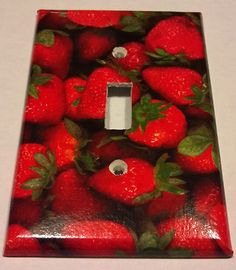 1000 images about strawberry kitchen decor on pinterest - Strawberry kitchen decorations ...