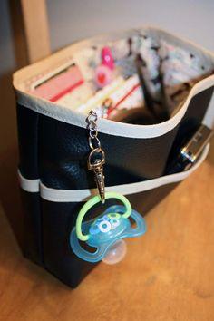 Bag in a bag. Organiseer die tas!  ★ Le tuto de mon organisateur de sac