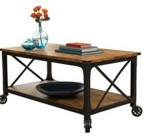 Better Homes & Gardens Rustic Country Coffee Table, Weathered Pine Finish Size: inch Large x inch W x inch H furniture western rustic furniture rustic furniture rustic furniture Country Coffee Table, Garden Coffee Table, Rustic Coffee Tables, Rustic Table, Rustic Wood, Rustic Chair, Rustic Art, Rustic Design, Rustic Kitchen