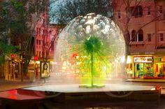 Fountain at fountain Cafe, Kings Cross Sydney. Old hood Melbourne, Brisbane, Sydney City, Sydney Trip, Wonderful Places, Beautiful Places, Sidney Australia, Kings Island, Australia Travel