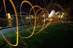 Light Painting - Light Art - Photography - Alex Kess - Sydney - 2011 - #lightpainting #lightart #art #photography Long Exposure, Light Painting, Light Art, Art Photography, Have Fun, Wall Lights, Outdoor Decor, Sydney, Photos