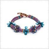 Blooming Petals Bracelet Kit-Tan - Jewelry Store