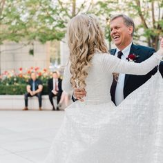 @bitsybridal posted to Instagram: Happy Father's day to the best dads in this world... Here's to highlight is our bride Lauren's.  . Photo: @kendrabirdphotography Venue: @thegrandamerica Gown: @lazarobridal made modest at @bitsybridal . #BitsyBride #bitsycustomdesigns #style3814