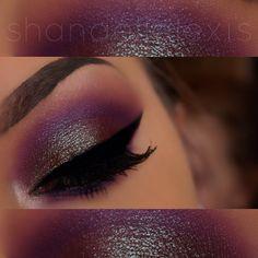 Makeup Geek Insomnia on the Lid!  Instagram: @shandellalexis_