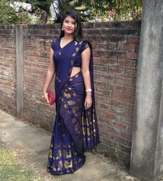 Embedded Beauty Full Girl, Beauty Women, Real Beauty, Indian Beauty Saree, Indian Sarees, India Beauty, Asian Beauty, Kajal Agarwal Saree, Sari Blouse Designs